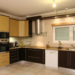 Cozinhas em Folha de Madeira