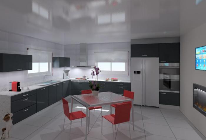 Cozinhas 3D 10