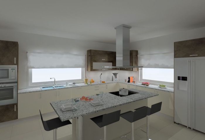 Cozinhas 3D 11