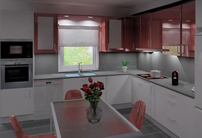 Cozinhas 3D 32