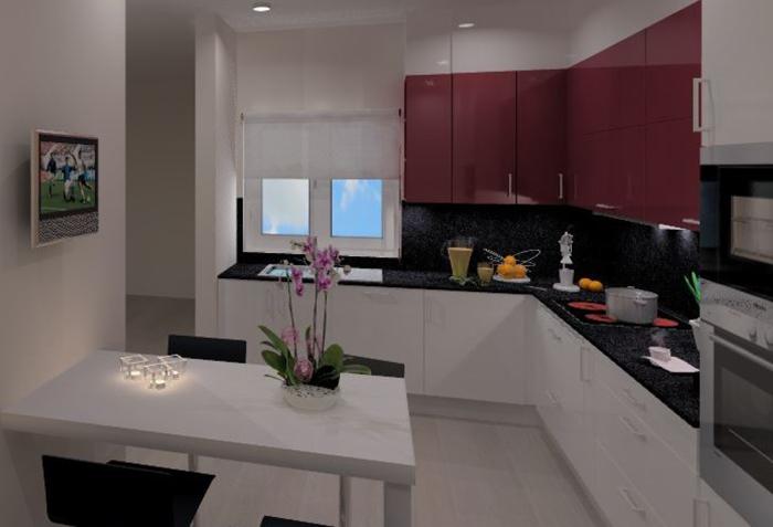 Cozinhas 3D 33