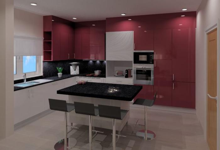 Cozinhas 3D 35