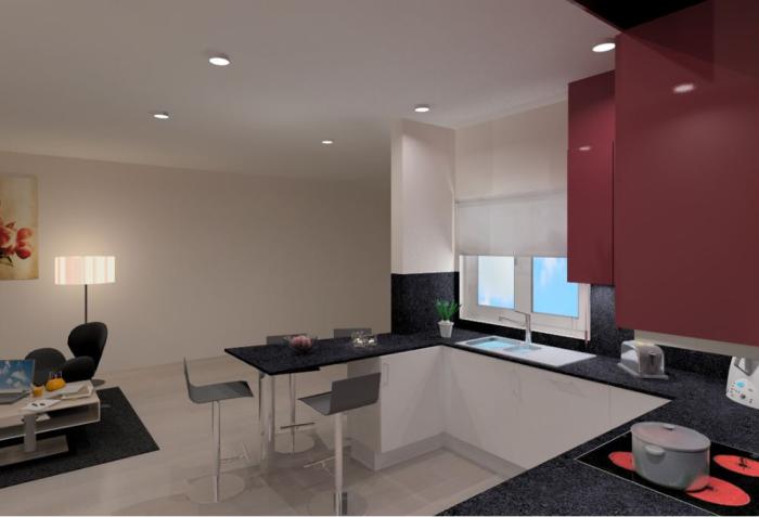 Cozinhas 3D 36