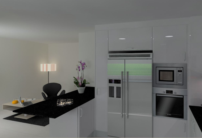 Cozinhas 3D 40