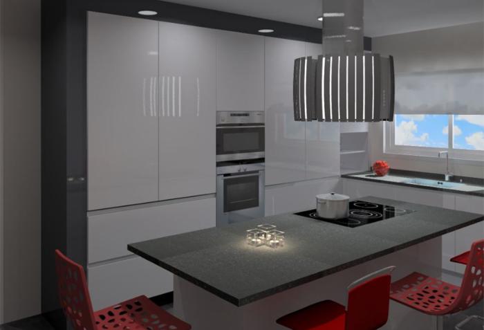 Cozinhas 3D 43