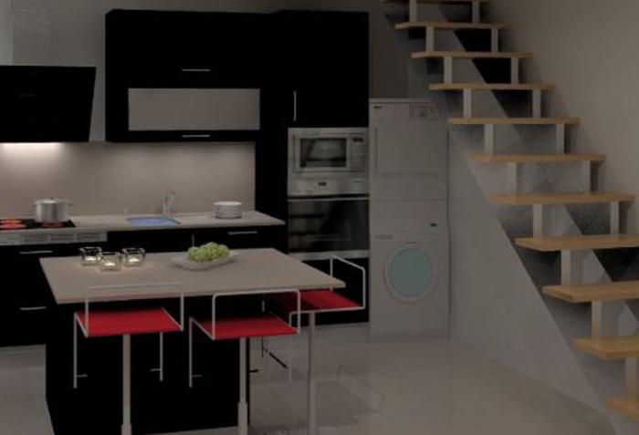Cozinhas 3D 48