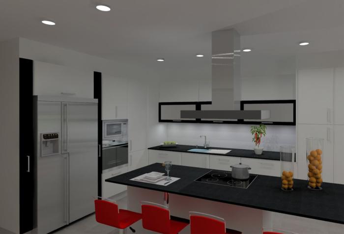 Cozinhas 3D 7