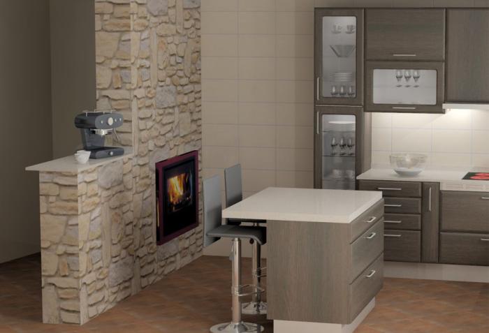Cozinhas 3D 9